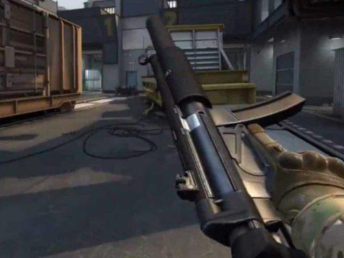 The MP5 returns to CS:GO 1