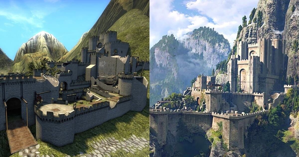 17914 Cover Image User Recreates Kaer Morhen Fortress From The Witcher As CSGO Map