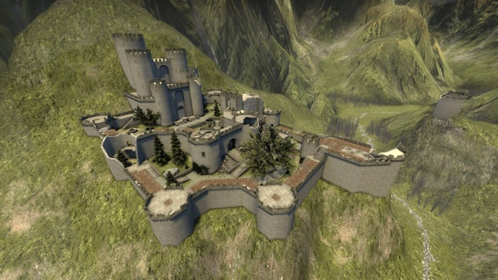 User Recreates Kaer Morhen Fortress From The Witcher as CS:GO Map 1