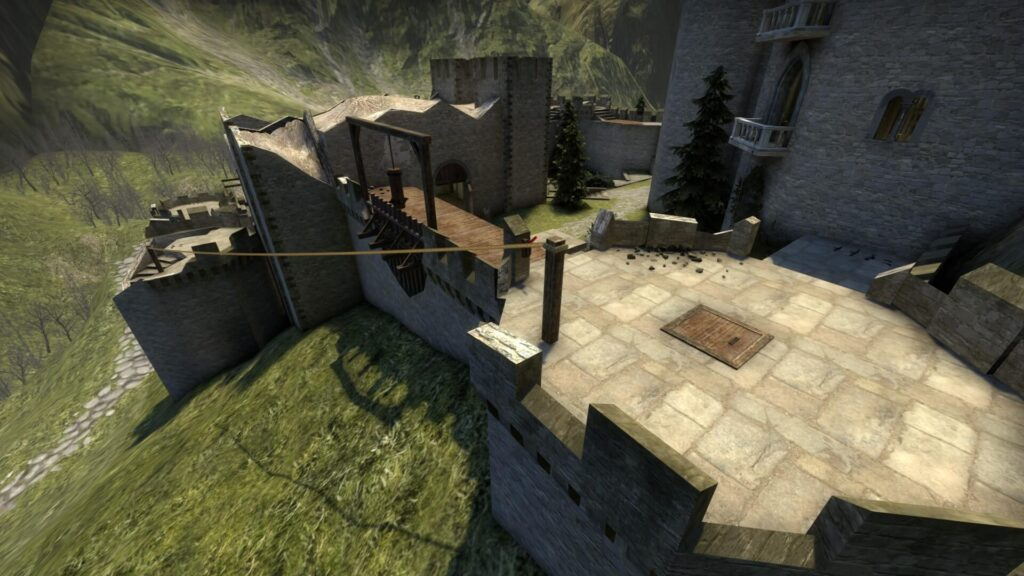 User Recreates Kaer Morhen Fortress From The Witcher as CS:GO Map 2