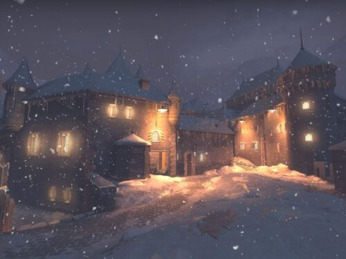 This spooky, snowy CS:GO map is ideal for Wingman mode 9
