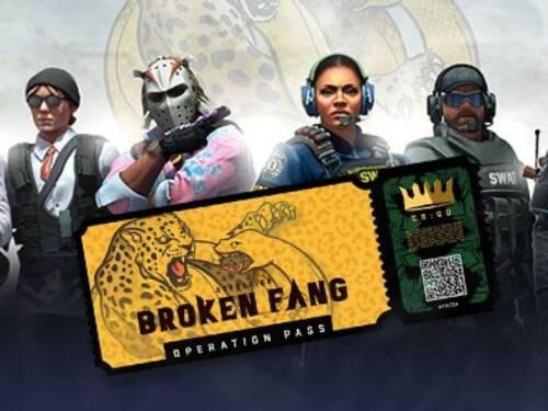 CS:GO Operation 10: Broken Fang 1