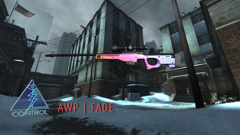 Broken Fang's Control Case is filled with quality skins, new Fade 1