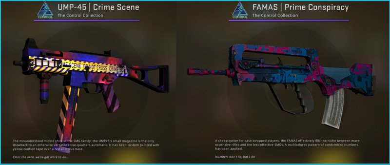 Broken Fang's Control Case is filled with quality skins, new Fade 6